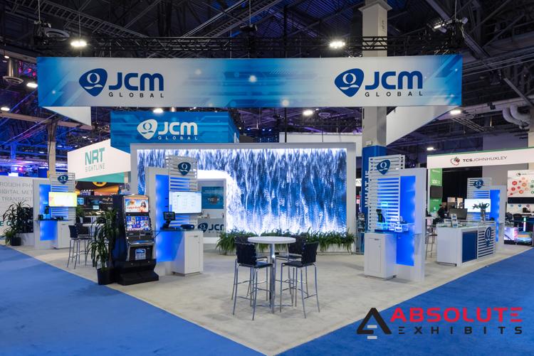 JCM-Global trade show booth design