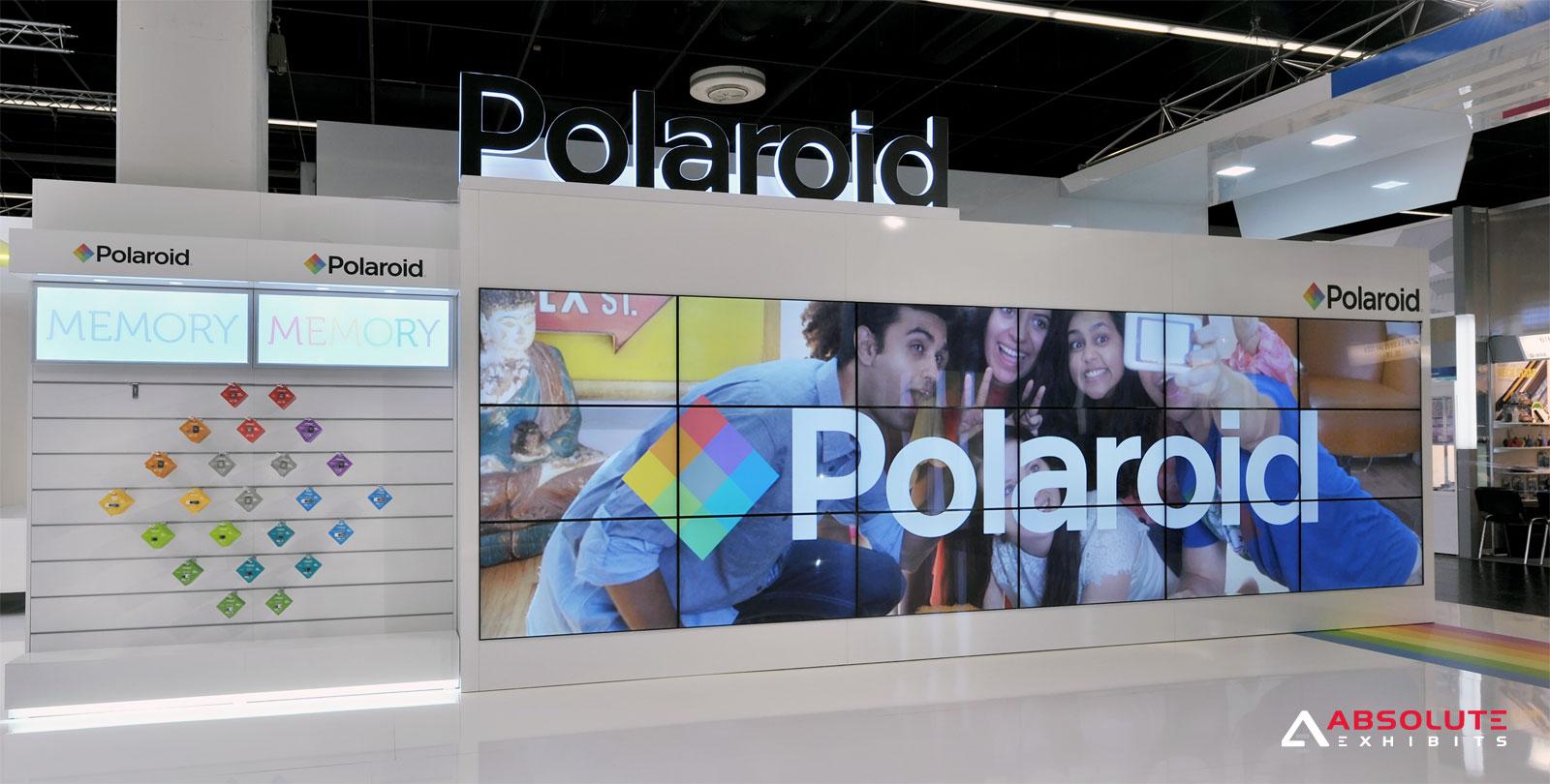 video wall, polaroid, photokina 2016