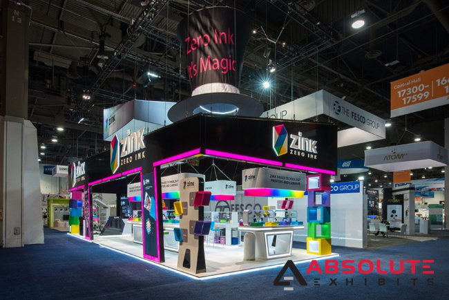 Absolute Exhibits trade show exhibit client