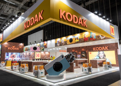 Kodak exhibit abroad