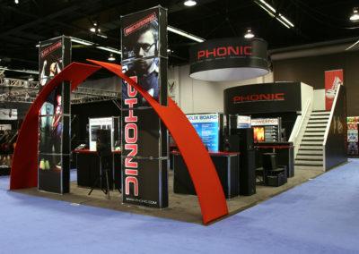 Phonic Double Deck Displays