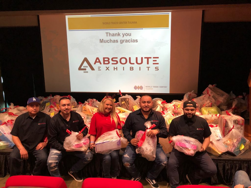 Absolute Exhibits toy drive
