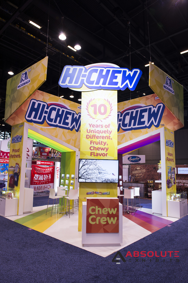 20x20 trade show exhibit design