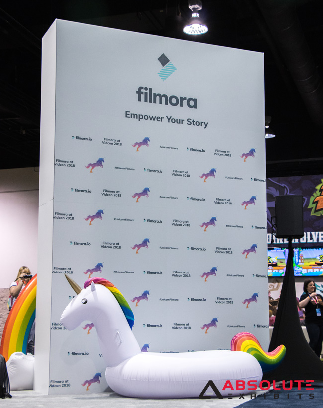 Vidcon Trade Show Booth Engagement and Retargeting