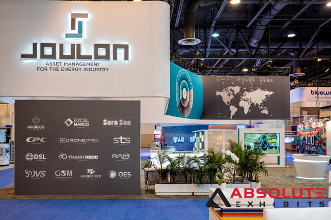 Joulon Absolute Exhibits OTC trade show exhibit