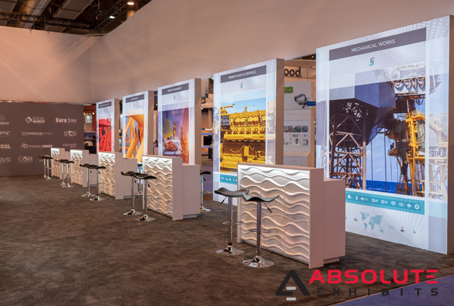 kiosks trade show exhibit