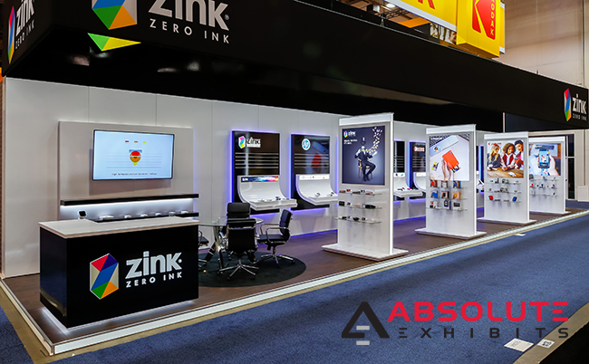 CES trade show booth