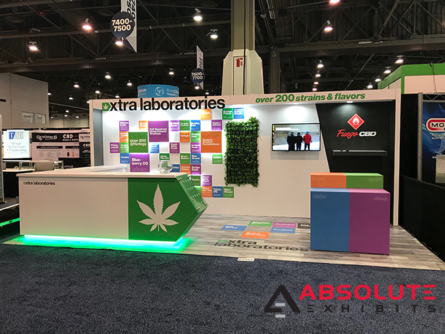 trade show display visuals