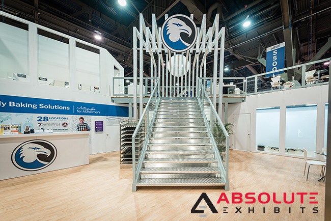 Bundy Baking Solutions trade show exhibit by Absolute Exhibits